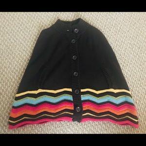 Gymboree sweater poncho